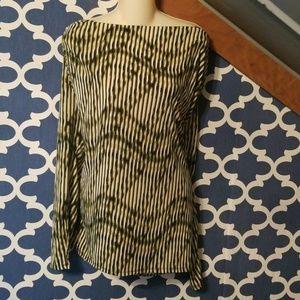 Womens xl Worthington boat neck career shirt top